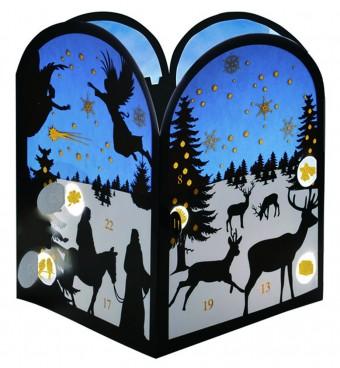 アドベントカレンダー:クリスマスの夜